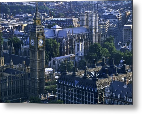 London Metal Print featuring the photograph London by Wes Shinn