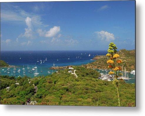 Caribbean Islands Metal Print featuring the photograph Nelson's Dockyard Antigua by Gary Wonning
