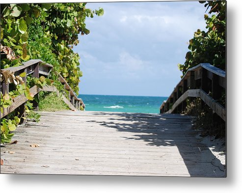 Sea Scape Metal Print featuring the photograph Path To Paradise by Rob Hans
