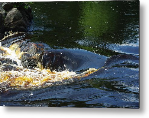 Rocks Metal Print featuring the photograph River On The Rocks II by Alice Markham