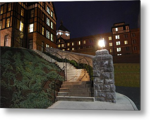 Steps Metal Print featuring the photograph Roanoke Steps by Eric Liller