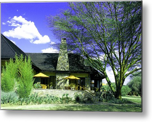 Cottage Metal Print featuring the photograph Rustic Cottage by Apurva Madia