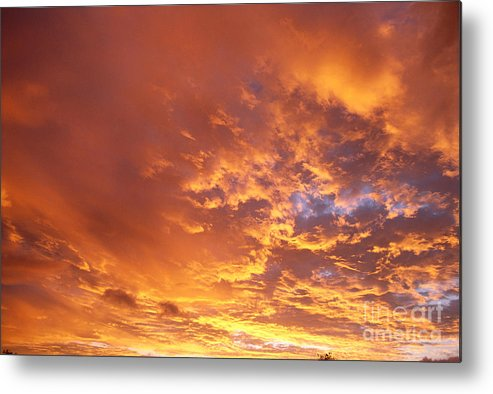 C1740 Metal Print featuring the photograph Spectacular Sunrise by Mary Van de Ven - Printscapes