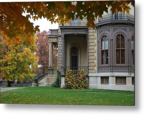 David Davis Mansion Metal Print featuring the photograph Stately by Abraham Adams Photography