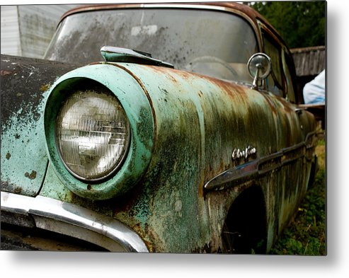 Cars Metal Print featuring the photograph Sunday Drive by Jennifer Owen