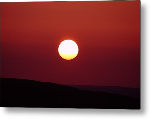 Sunrise Metal Print featuring the photograph Sunrise Over The Wenas by Jeff Swan