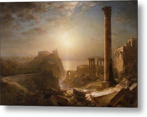 Syria Metal Print featuring the painting Syria By The Sea by Frederic Edwin Church