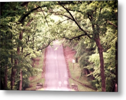 Road Metal Print featuring the photograph The Road Less Traveled by Deanna Klemm