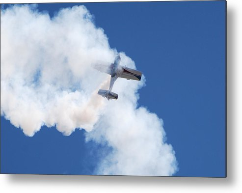 Aircraft Metal Print featuring the photograph The Stall by Larry Keahey