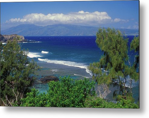Hawaii Metal Print featuring the photograph West Maui Ocean View by John Burk
