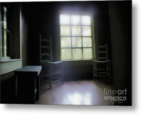 Room With A View Metal Print featuring the photograph Room With A View by Cris Hayes