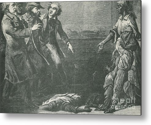 America Metal Print featuring the photograph The Capture Of Margaret Garner by Photo Researchers