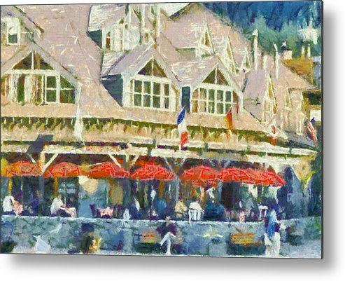 Whistler Metal Print featuring the photograph Whistler One by Dale Stillman