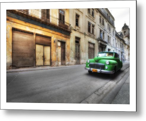 All Metal Print featuring the photograph Cuba 02 by Marco Hietberg