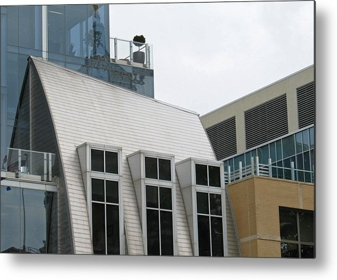 Architecture Metal Print featuring the photograph Natural Collage by Gary Everson