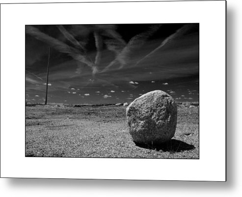 Landscape Metal Print featuring the photograph Rock by Filipe N Marques