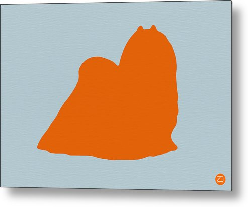 Maltese Metal Print featuring the photograph Maltese Orange by Naxart Studio