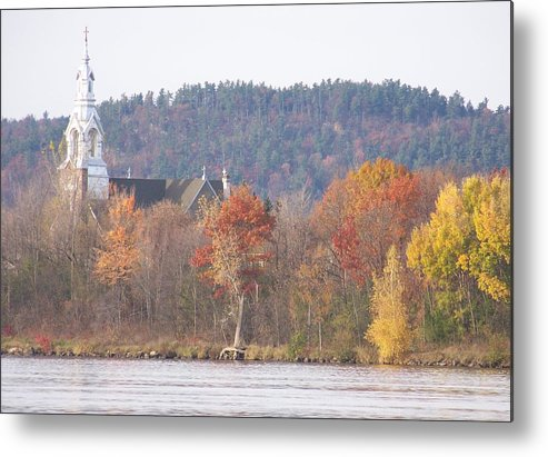 Church Metal Print featuring the photograph Grenville Quebec - Photograph by Jackie Mueller-Jones