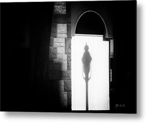 Window Metal Print featuring the photograph Barristers Window by Bob Orsillo