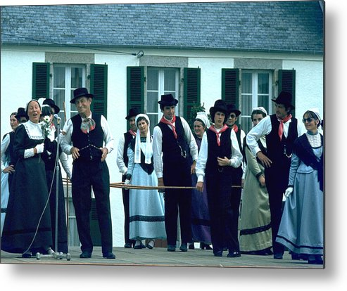 Tradition Metal Print featuring the photograph Folk Music by Flavia Westerwelle