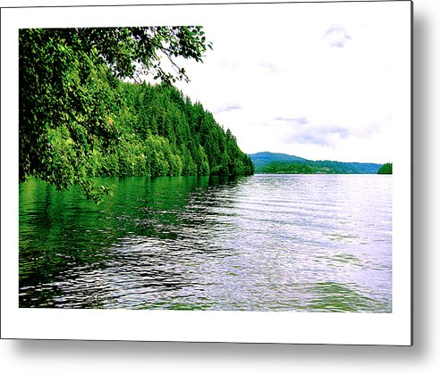 Lake Metal Print featuring the photograph Green Lake by J D Banks