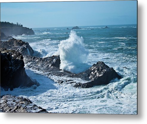 Power Metal Print featuring the photograph Power by Merrill Beck