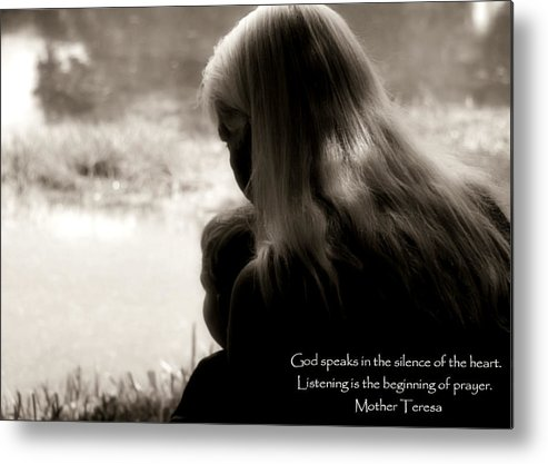 Prayer Metal Print featuring the photograph Prayer by Bruce Larson