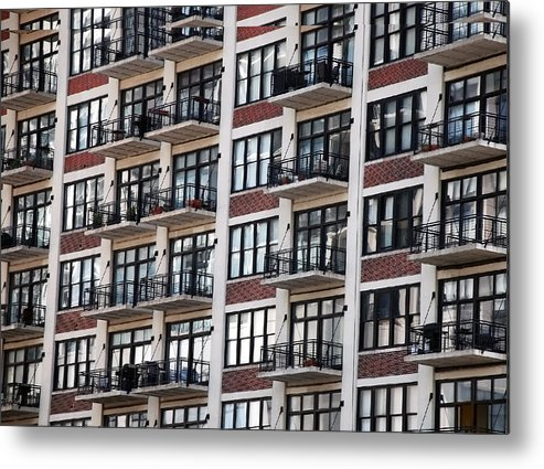 Landscape Metal Print featuring the photograph City Living by M Ryan