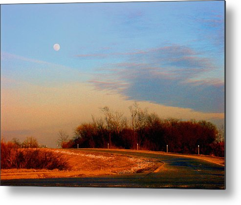Landscape Metal Print featuring the photograph The On Ramp by Steve Karol