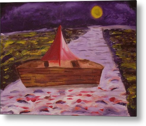 Metal Print featuring the painting What Is Traditional by Joseph Arico