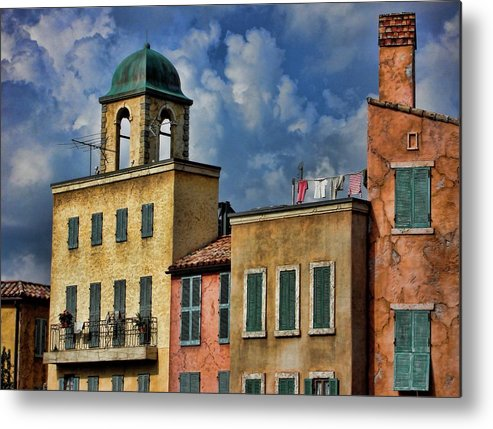 Buildings Metal Print featuring the photograph Disney Orlando by Francesco Roncone