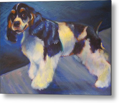 Metal Print featuring the painting Cooper by Kaytee Esser