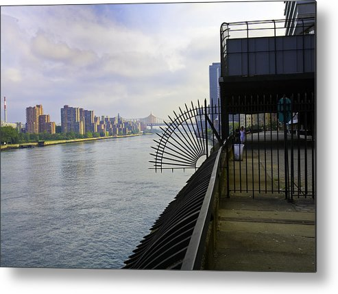 East River Metal Print featuring the photograph East River View Looking South by Madeline Ellis