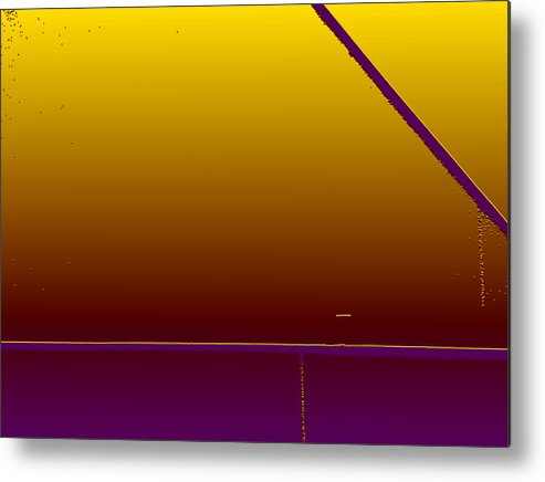 Minimal Metal Print featuring the photograph Simple Geometry - 4 by Lenore Senior