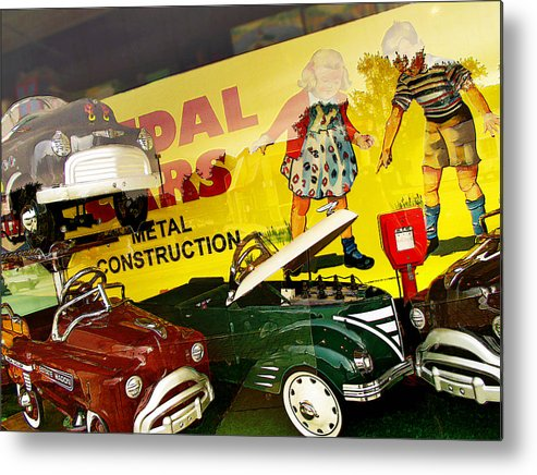 Color Metal Print featuring the photograph Metal Construction by Curtis Staiger