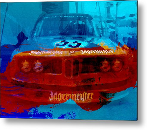 Metal Print featuring the photograph Bmw Jagermeister by Naxart Studio