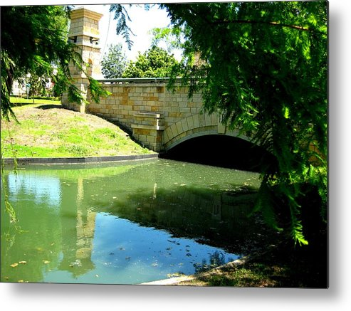 Metal Print featuring the photograph By The Water by Diana Moya