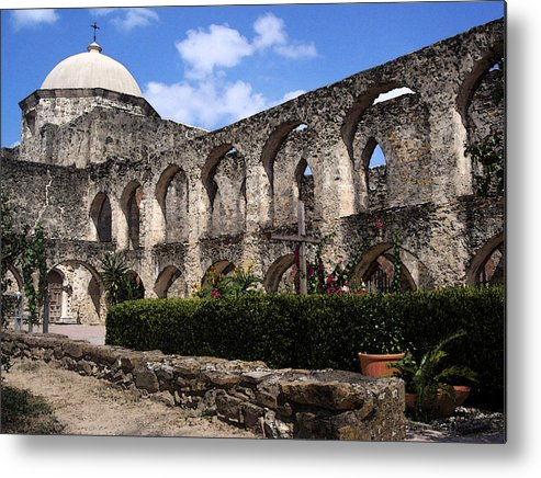 San Antonio Metal Print featuring the drawing Legacy by Diana Gonzalez