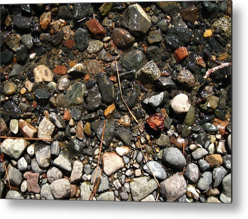 Landscape Metal Print featuring the photograph Relativity by Albert Almondia