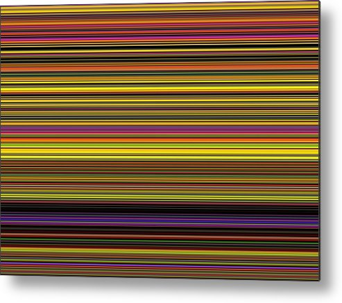 New Metal Print featuring the digital art Spectra 10120 by Chuck Landskroner