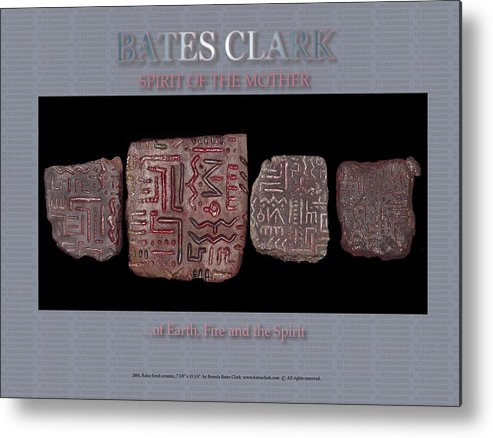 Digital Print Metal Print featuring the digital art Spirit Of The Mother by Bates Clark