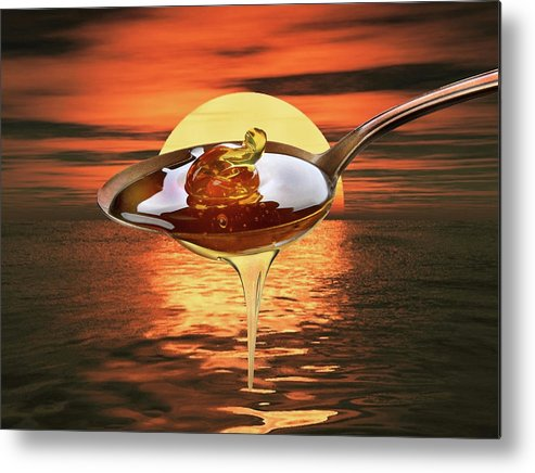 Sweet Metal Print featuring the photograph Sweet by Manfred Lutzius
