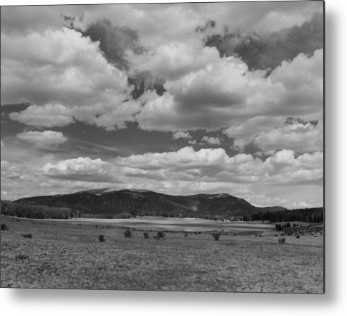 Landscape Metal Print featuring the photograph San Juan Summer by Allan McConnell