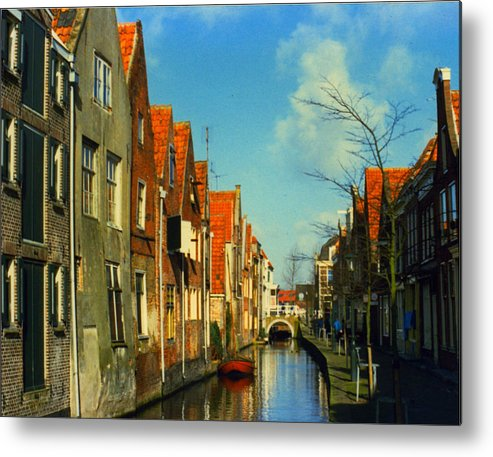 Amsterdam Metal Print featuring the photograph Amsterdam Canal by Jennifer Ott
