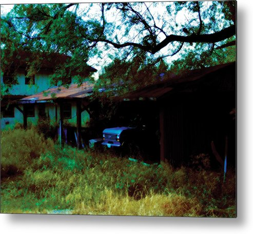 Old Metal Print featuring the photograph Forgotten by Carl Perry