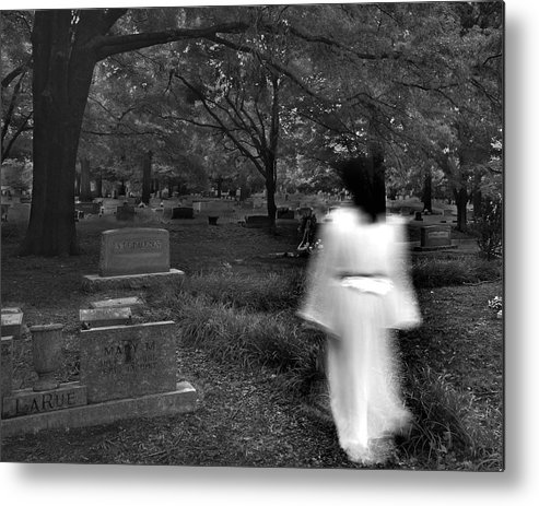 Cemetery Metal Print featuring the photograph Larue by Steve Parrott