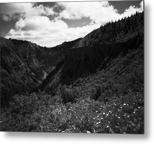 Nature Metal Print featuring the photograph Silver Star Mountain by Benjamin Garvey