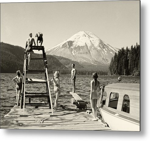 Metal Print featuring the photograph Spirit Lake by Ray Atkinsen