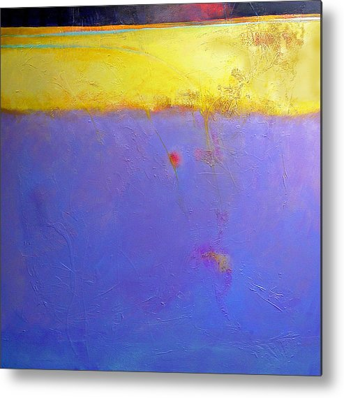 Abstract Metal Print featuring the painting After Dark by Dale Witherow