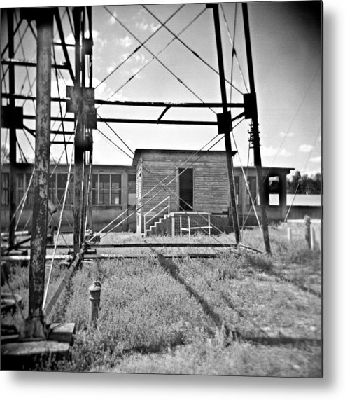Tower Metal Print featuring the photograph Not Receiving by Steve Parrott